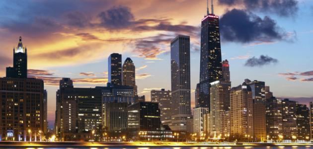 أين توجد شيكاغو
