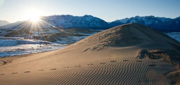 أين تقع صحراء سيبيريا