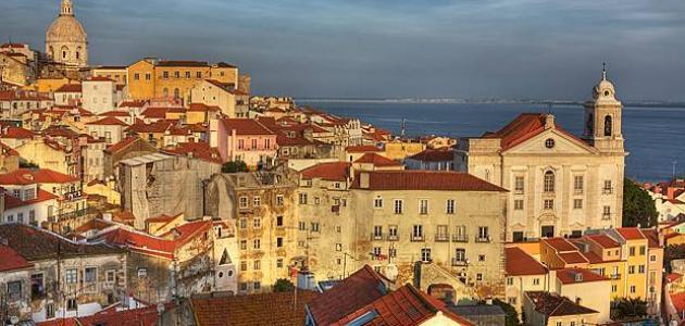 أين تقع مدينة لشبونة