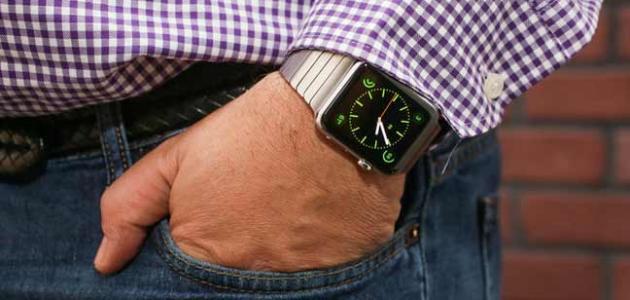 أين تلبس ساعة اليد