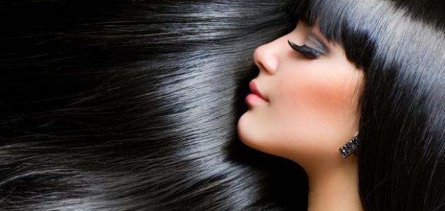 حناء الشعر الأسود