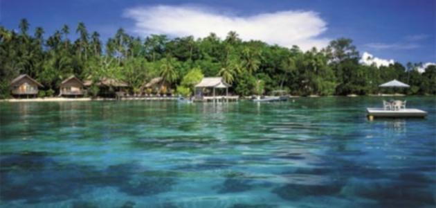 أين تقع جزيرة سليمان