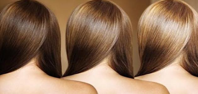 كيف أفتح لون شعري بدون صبغة