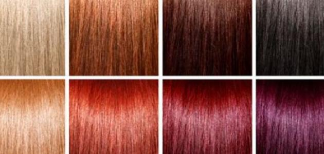 طريقة دمج ألوان صبغات الشعر