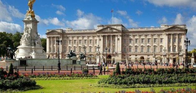 أين يقع قصر باكنغهام