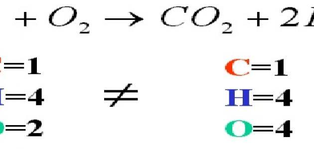 بحث عن وزن المعادلات الكيميائية