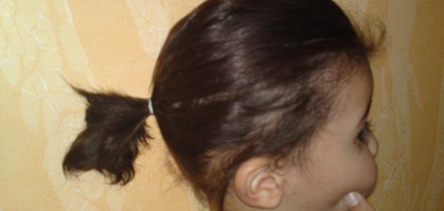 كيف أقص شعر ابنتي عمرها سنة