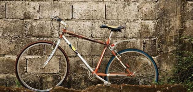 كيف يمكنني حماية دراجتي من الصدأ