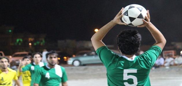 رمية التماس في كرة القدم