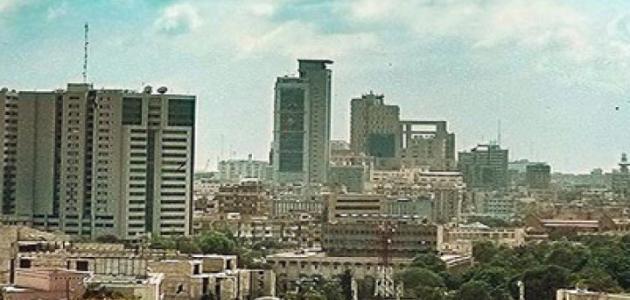 أين تقع مدينة كراتشي