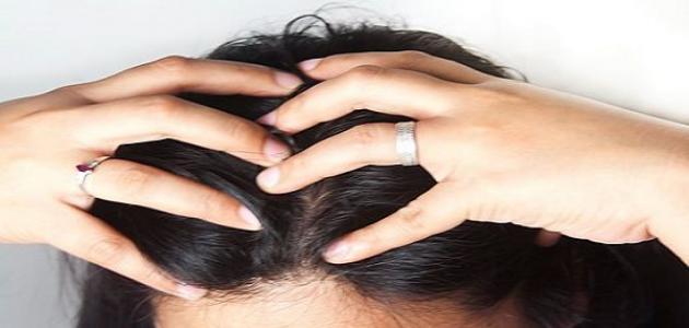 طريقة تدليك فروة الرأس