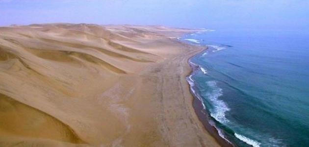 أين تقع صحراء ناميب