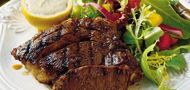 طريقة تتبيل ستيك اللحم المشوي