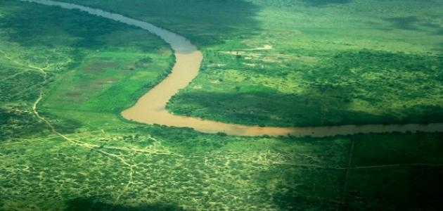 أين يقع نهر جوبا