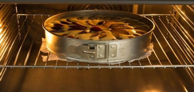 طريقة خبز الكيك بالفرن