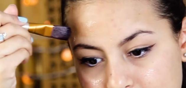 طريقة سد مسامات الوجه