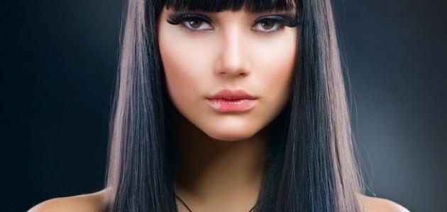 احدث الوان موضة2017 لصبغ الشعر اللون الاسود