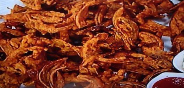 طريقة عمل باكورة البصل