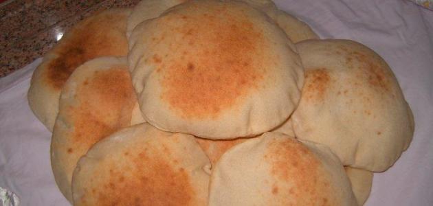طريقة خبز العيش الشامي