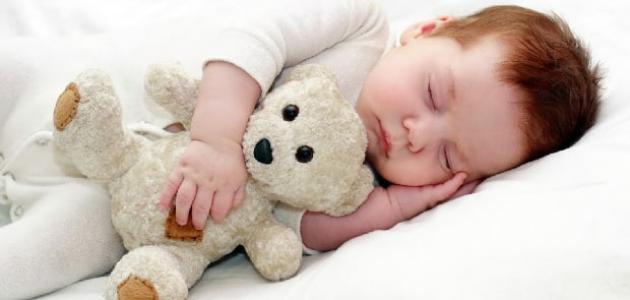 طريقة نوم الطفل الصحيحة