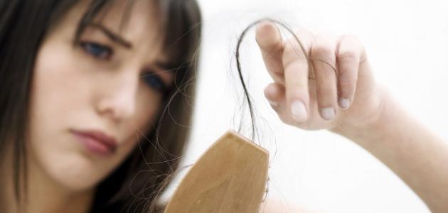 طريقة لعدم سقوط الشعر