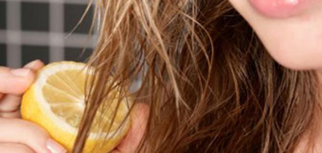 طرق تفتيح لون الشعر طبيعياً