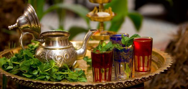 طريقة عمل شاي مغربي