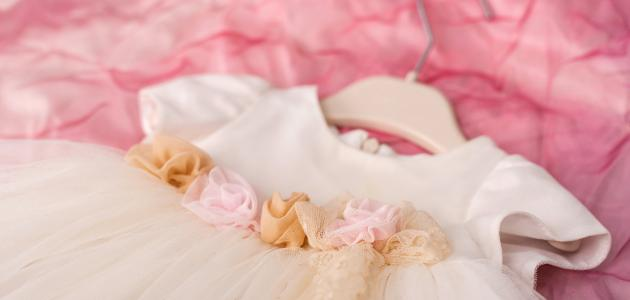 طريقة خياطة فستان طفلة