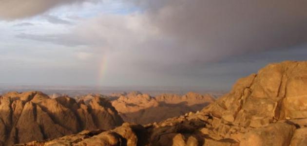 أين يقع جبل سيناء