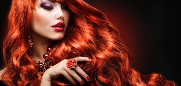 كيف أحصل على لون شعر أحمر