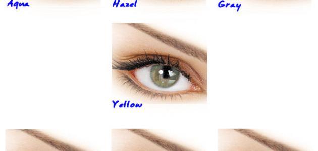 3b7e6175b كيف أختار لون عدسات يناسبني - موضوع