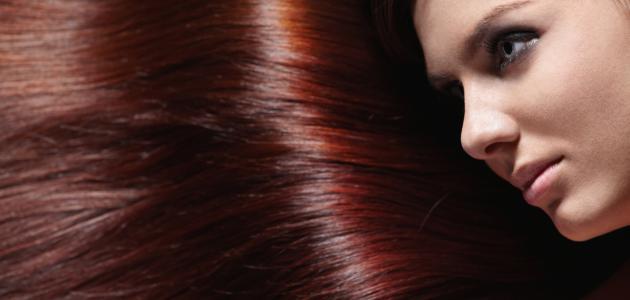 كيف أحصل على لون شعر بني محمر
