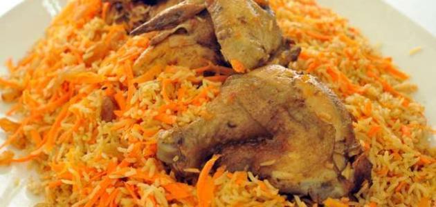 كيف أعمل أرز ودجاج
