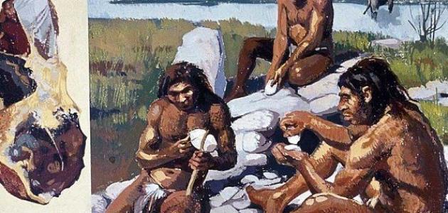 كيف عاش الإنسان في العصر الحجري القديم