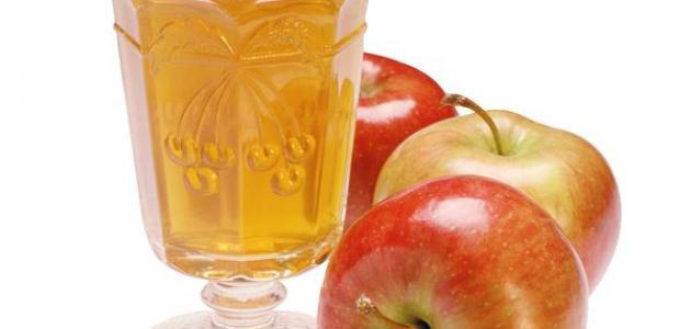 كيفية عمل عصير التفاح