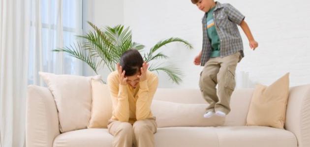 كيفية التعامل مع الطفل كثير الحركة