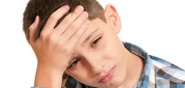 أعراض الصداع عند الأطفال
