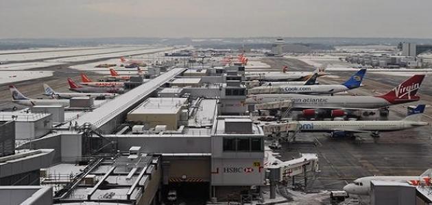 أين يقع مطار هيثرو في لندن