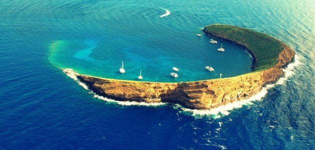 كيف تكونت جزر هاواي