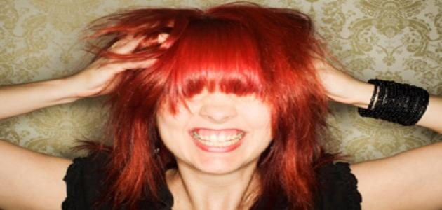 كيف أحافظ على لون شعري الأحمر