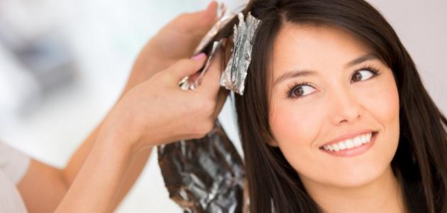 كيف أتعلم صبغ الشعر