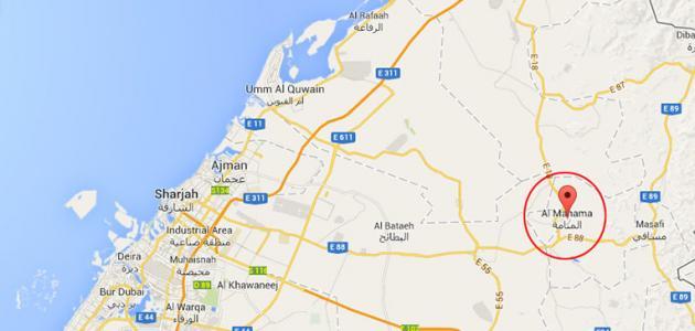 أين توجد منطقة المنامة