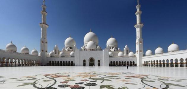 أين يقع جامع الشيخ زايد