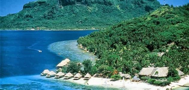 أين تقع جزر هايتي