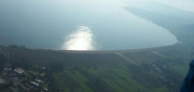 أين موقع بحيرة طبريا