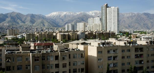 أين تقع مدينة طهران