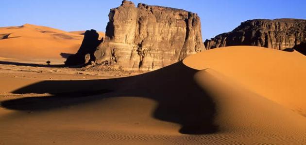 أين تقع هضبة الصحراء الكبرى