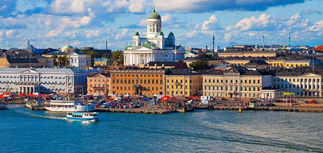أين تقع مدينة هلسنكي