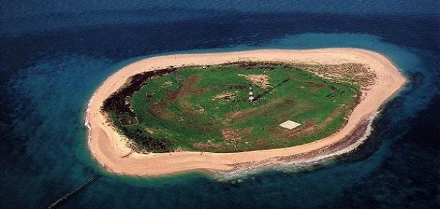أين تقع جزيرة كبر