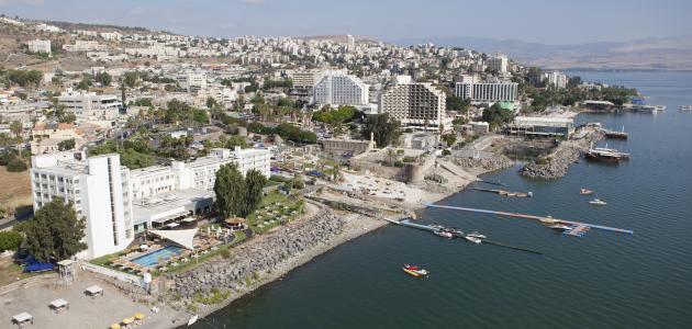أين تقع مدينة طبريا